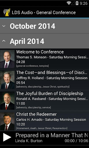 LDS Audio - General Conference