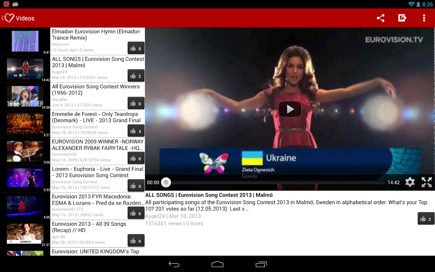 Eurovision 2013 Fan - screenshot