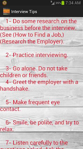 【免費教育App】Interview Tips-APP點子