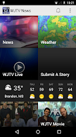 Screenshot of WJTV News Channel 12