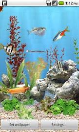 aniPet Freshwater Aquarium LWP Screenshot 1