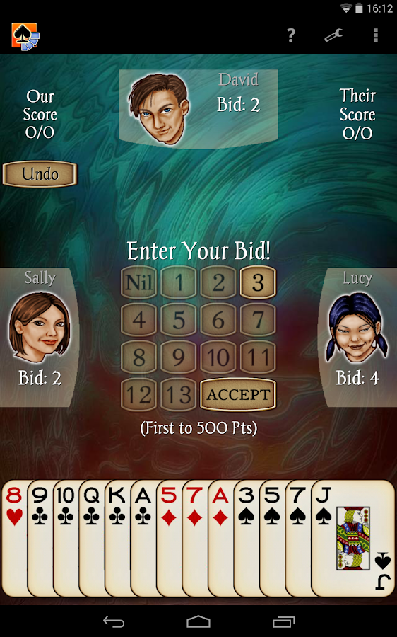 Spades Free - screenshot