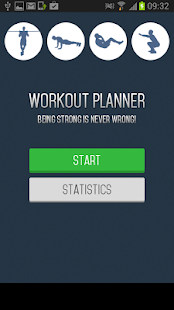 Workout Planner - screenshot thumbnail