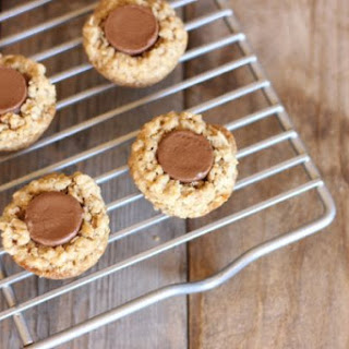 Rolo Oatmeal Cookie Cups