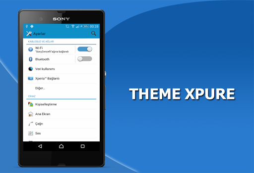 Theme Experiam Xpure Lollipop