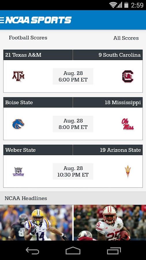 NCAA® Sports - screenshot