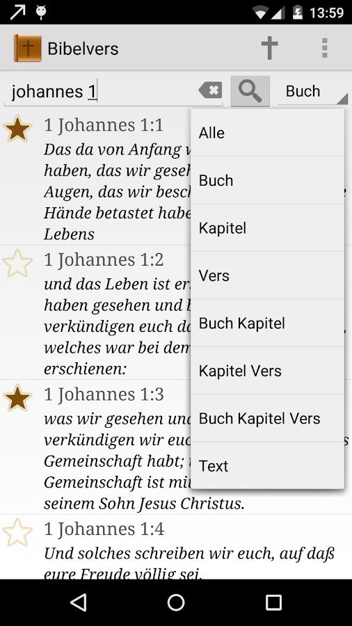 Bibelvers des Tages - screenshot