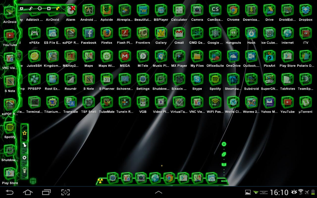 Green gmail theme - Tsf Shell Theme Green Th Hd Screenshot