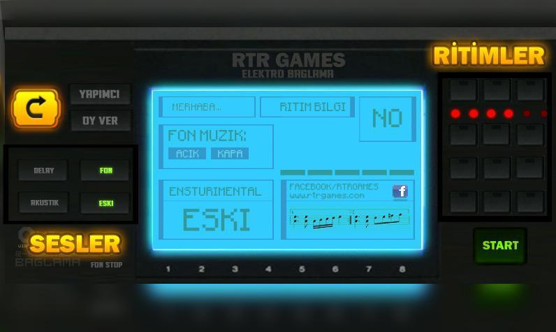 R-Elektro Bağlama - screenshot