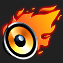 Burning Speaker icon