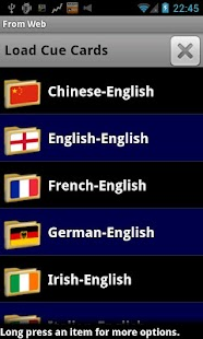 CueBrain! languages french etc- screenshot thumbnail