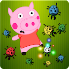 Peppie Pig Bug Smashing Games icon