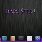 DarkSteel Purple Lite Go Theme