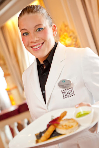Culinary-Experiences-Prego-Waiter-1 - Count on Prego's attentive waiters to take care of you while you dine on Crystal Serenity.