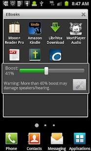 Speaker Boost- screenshot thumbnail
