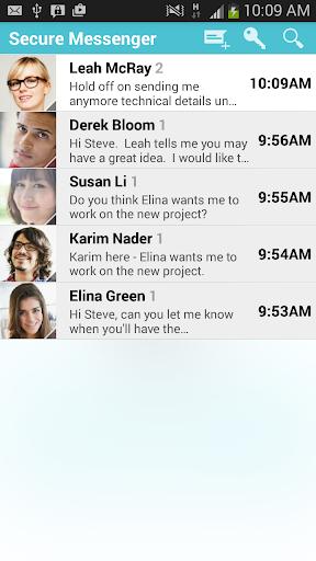 Secure Messenger encrypted SMS