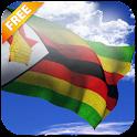 3D Zimbabwe Flag icon