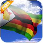 3D Zimbabwe Flag Live Wallpaper icon