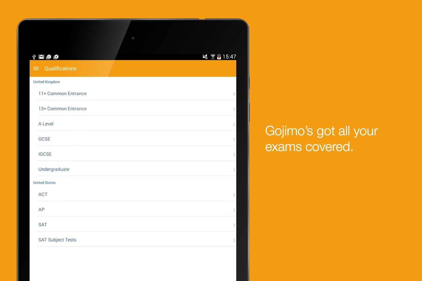 Gojimo- Exam & Test Prep- screenshot