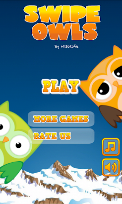 Swipe Owls screenshot