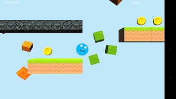 Screenshot of Blueix monster run