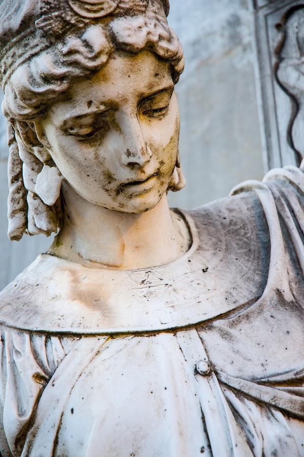 When angels cry by Vlad Rotaru - Buildings & Architecture Statues & Monuments ( stock statue monument lady woman statues angel cry sad )