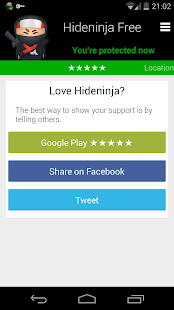 Hideninja VPN - screenshot thumbnail