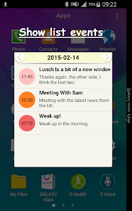 Schedule for Note & S6 Edge v1.7