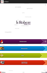 Dictionnaire Le Robert Mobile- screenshot thumbnail