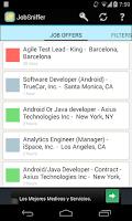 Screenshot of Job Sniffer