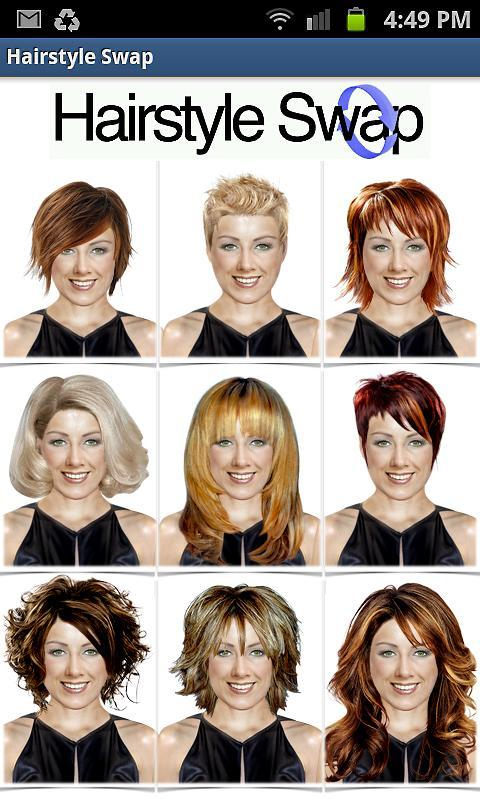 Hairstyle Swap LITE Google Play Store Revenue Download - Hairstyle on you app