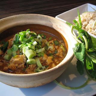 Curry Mapo Tofu W/ Ground Chicken Recipe