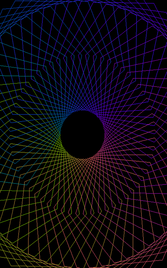 Hypnotic Pulsator - Lucid LWP - screenshot