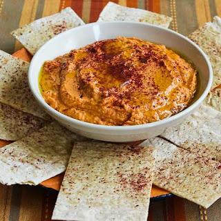 Slow Roasted Tomato Hummus.