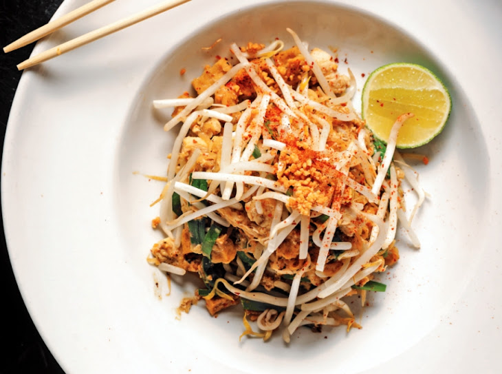 Grilled Shrimp Pad Thai Recipe