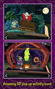 Haunted House ~ 3D Pop-Up Activity Book- screenshot thumbnail