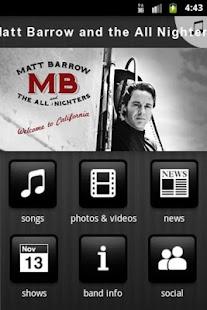 Matt Barrow and the All Nighte - screenshot thumbnail