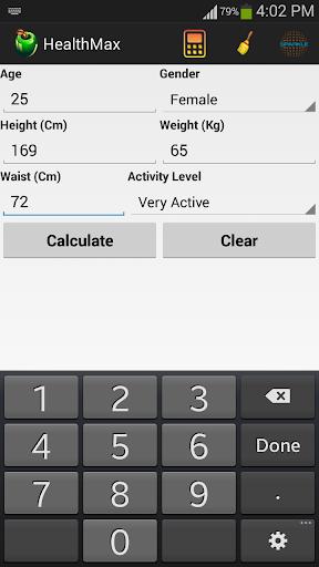 HealthMax - Health Calculator