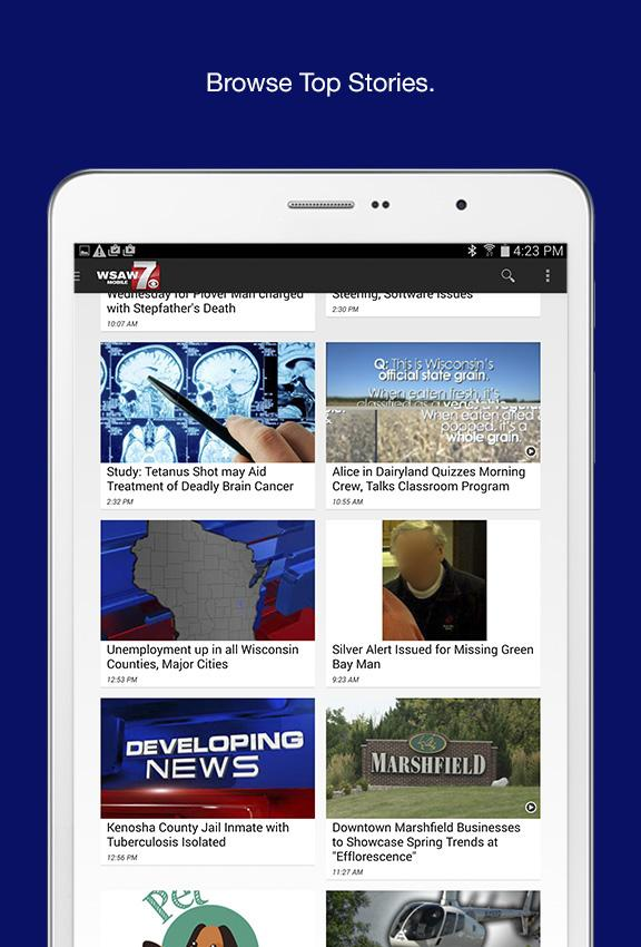 WSAW News - screenshot