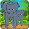 Feed Baby Elephants icon
