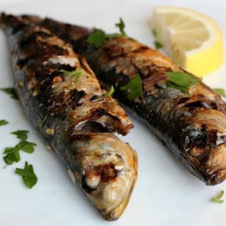 Grilled Sardines with Lemon, Garlic, and Paprika.