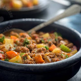 Minced Beef With Vegetables Recipes.