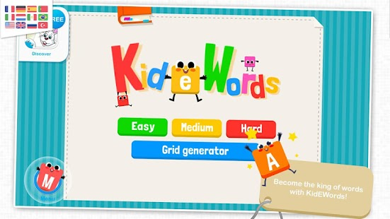 KidEWords : Crossword puzzles- screenshot thumbnail