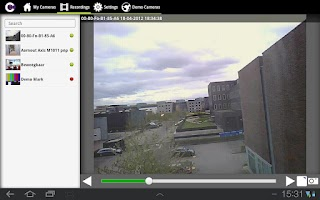 Screenshot of Camera Control Lite