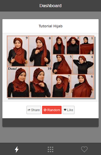 Hijab Step By Step