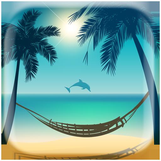 海灘天堂動態壁紙 個人化 LOGO-阿達玩APP