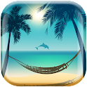 Beach Paradise Live Wallpaper icon