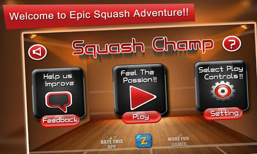 Squash Champ: Sports Challenge