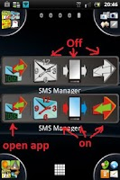 Screenshot of SMS Manager