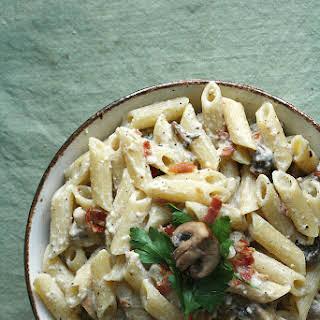 Pasta Carbonara With Cream Of Mushroom Recipes.